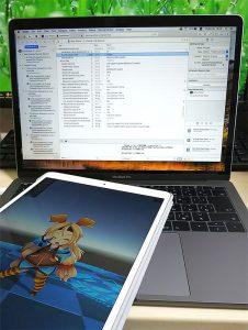 iPad実機でUnityアプリ動いた