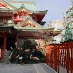 京浜伏見稲荷神社に参拝する