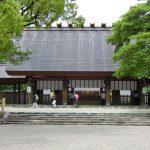 熱田神宮に参拝する